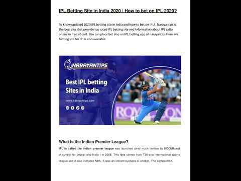 How to bet on ipl betting line steelers patriots