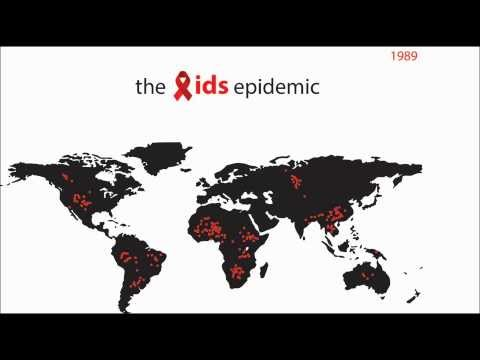 The Spread of AIDS / HIV - Animated!
