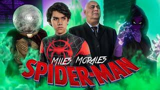 SPIDERMAN DE MILES MORALES EN LA VIDA REAL! - VS MISTERIO Y KING PING - (Parodia)- Changovisión