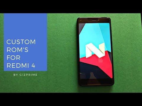 best-custom-roms-for-redmi-note-4-snapdragon- -2019