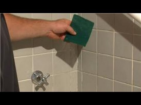 Bathroom Tiling How To Remove Water Spots From Ceramic Tile Youtube