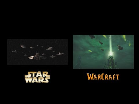 Star Wars and Warcraft - Similar Scenes