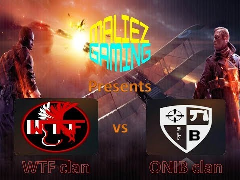 WTF vs ONIB -  Battlefield South African League  Live Stream