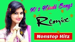 90s Hindi Superhit Love Dj Nonstop Hits Song   Old Hindi Romantic love Song   Old is gold dj