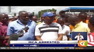 MCA arrested for disparaging Kenyatta thumbnail