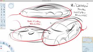 How to sketch cars in perspective the easier way