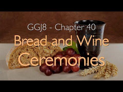 MARRIAGE BLESSING, BREAD AND WINE & CEREMONIES... Jesus explains ❤️ Great Gospel of John Volume 8/40