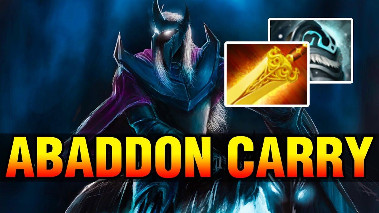 Abaddon Hard Carry Draskyl With Radiance Dota