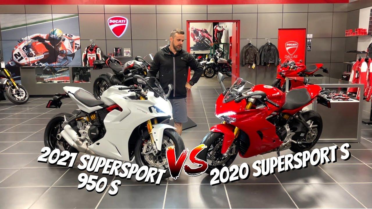 2021 Ducati SuperSport 950 S vs 2020 Ducati SuperSport S