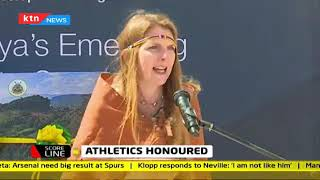 Sports CS Amina unveils World Athletics heritage plaque in Iten | Scoreline