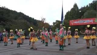 仙台のご当地アイドルユニット!みちのく仙台ORI☆姫隊LIVE (2012/10/07...
