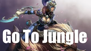 Dota 2 Go To Jungle Luna