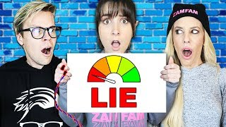 Never Have I Ever Challenge with Lie Detector Test! Best Friend IS A LIAR | Matt and Rebecca