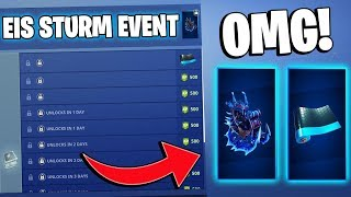 FREE GIFTS! | Fortnite Ice Storm Challenges