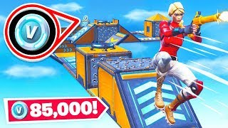 WINNING *85,000* V-BUCKS! in Fortnite