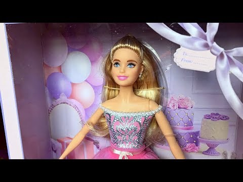 2017 Birthday Wishes Barbie Doll Review