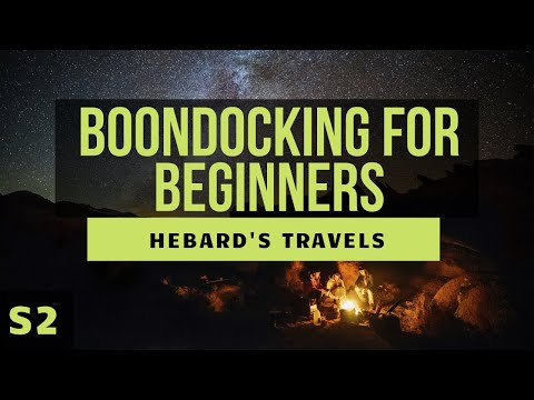 RV Nomad Life | Boondocking For Beginners: What We Wish We Had Known