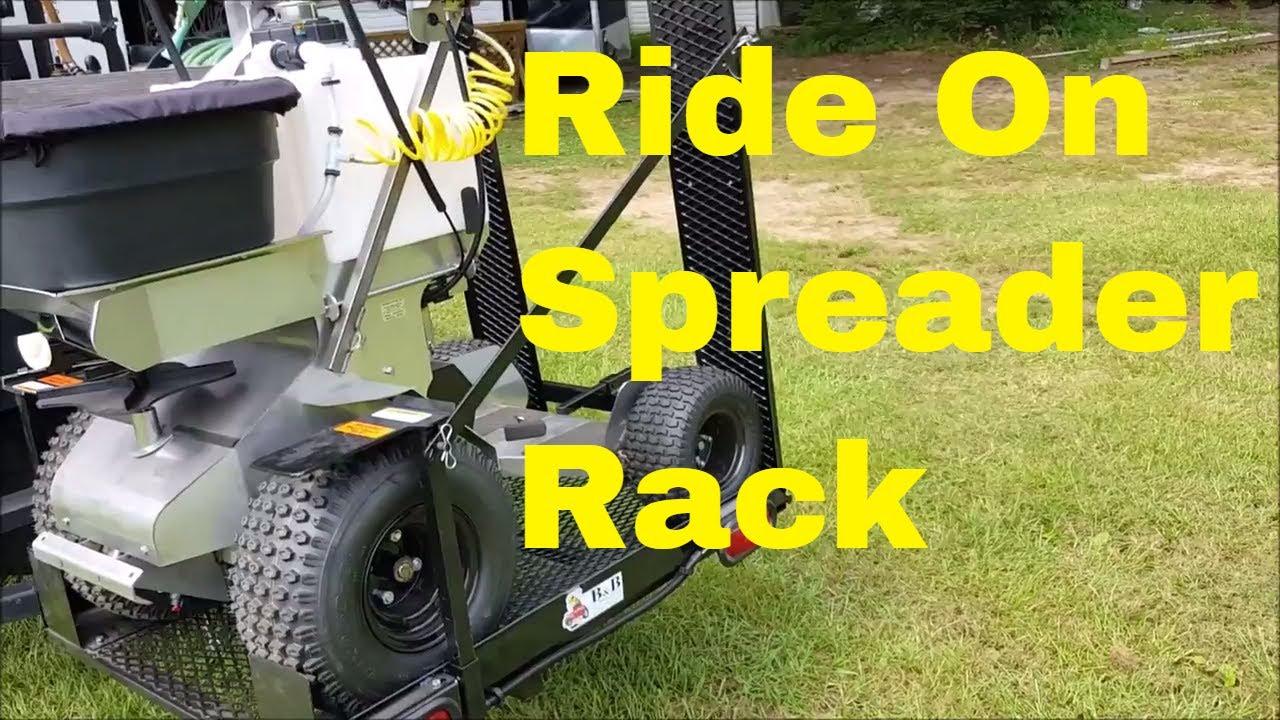 Ride On Spreader Sprayer Rack For Ground Logic Permagreen