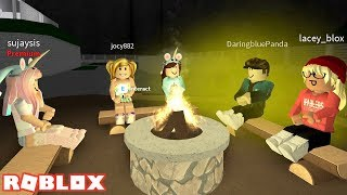 MAKING SMORES WITH PAW FANS! ROBLOX WELCOME TO BLOXBURG