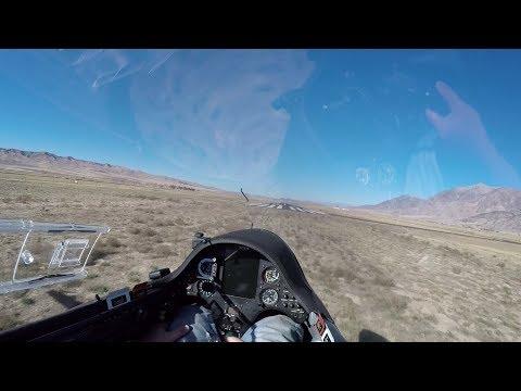 Glider Ground Effect Demonstration