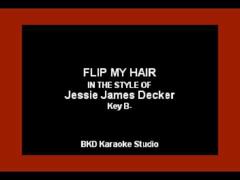 Jessie James Decker - Flip My Hair (Karaoke with Lyrics)