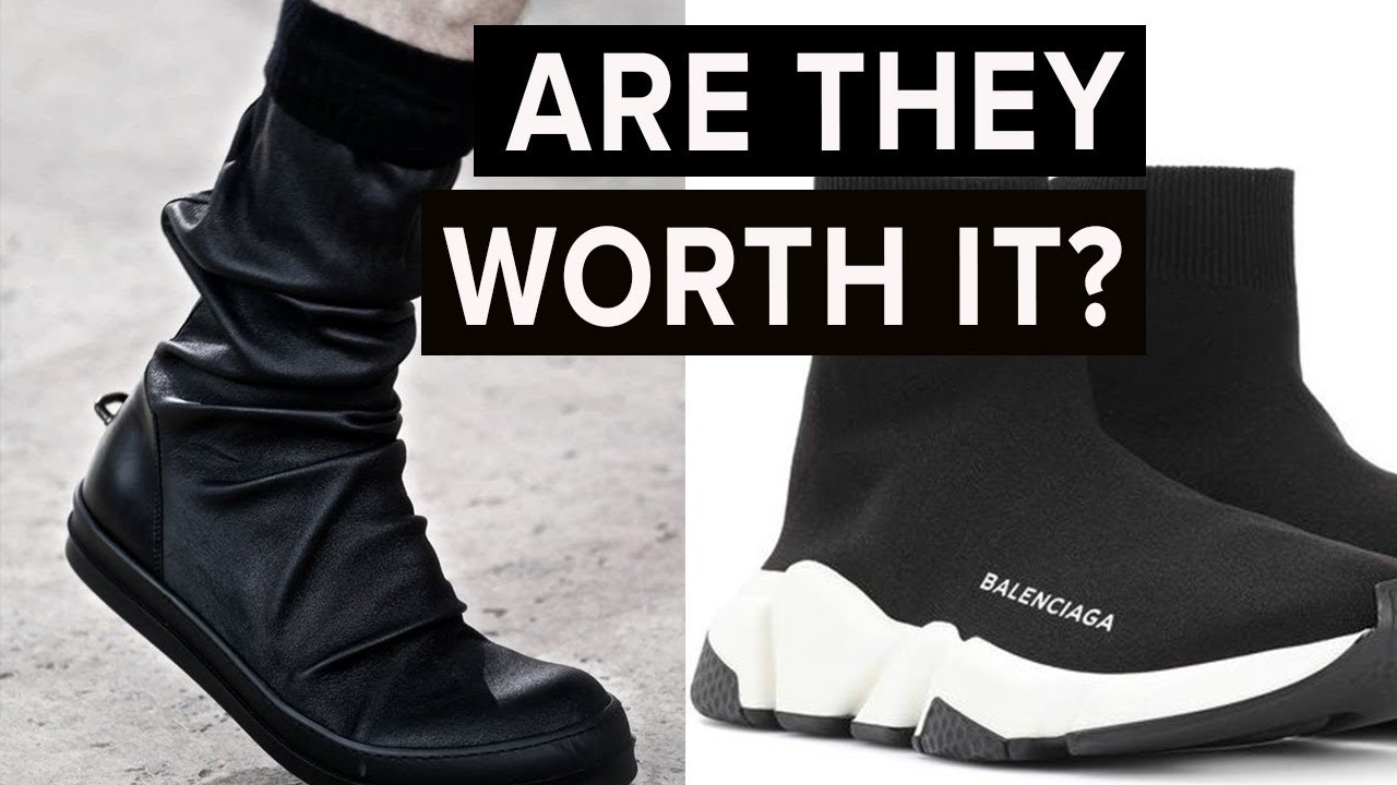 Are Sock Inspired Sneakers Worth The Hype Inspired Balenciaga Shoes