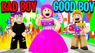 Can We GET A GIRLFRIEND In The BAD BOY VS GOOD BOY CHALLENGE In Roblox ADOPT ME?!
