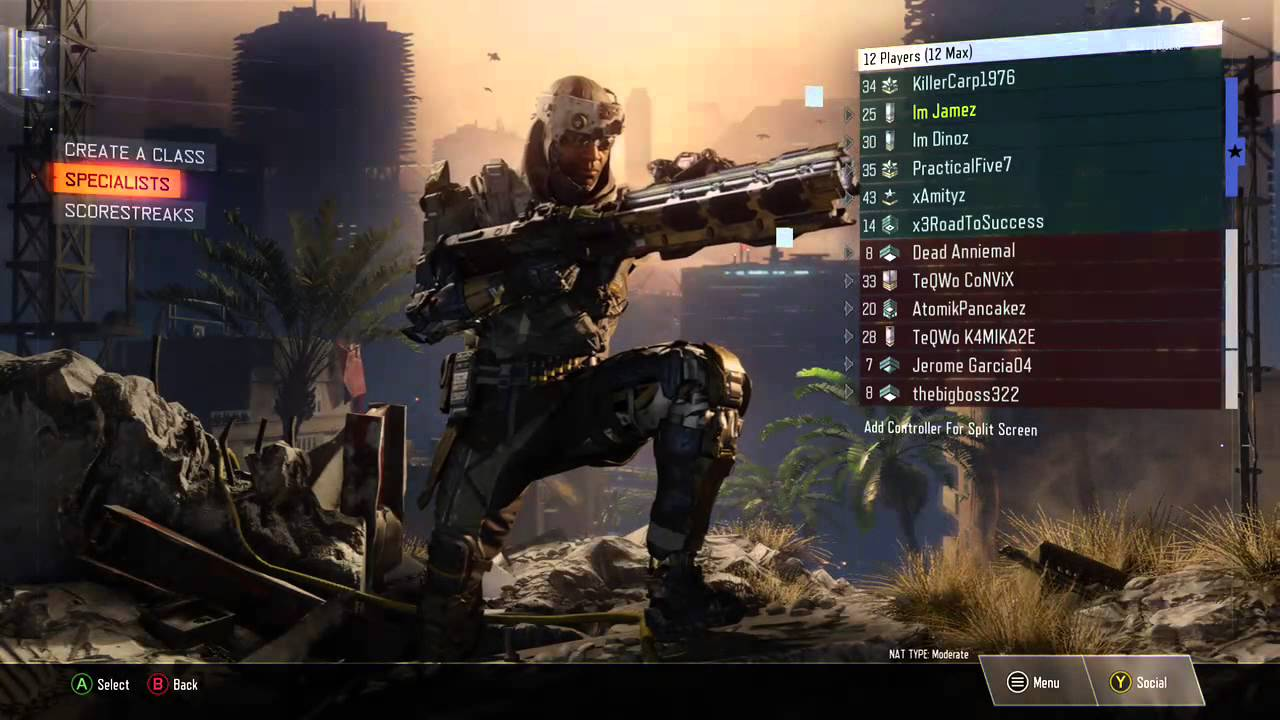 black ops 3 lobby