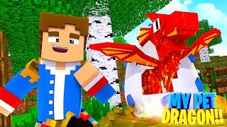 Minecraft LITTLE DONNY'S NEW PET BABY DRAGON!!