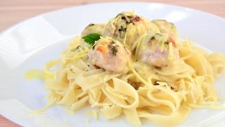 Куриные фрикадельки в сырно-сливочном соусе ☆ Chicken meatballs in a creamy cheese sauce