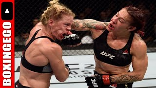 UFC 219: CRIS CYBORG TAMES STYLE 2 BEAT HOLLY HOLM OVER 5 | CYBORG VS HOLM FULL FIGHT CHAT BOXINGEGO