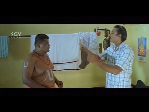 Indra Kannada Movie Back To Back Comedy Scenes   Darshan, Sathyajith, Bullet Prakash