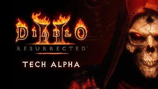 Diablo 2 - Resurrected (Technische Alpha) Zauberin Ende Akt 2
