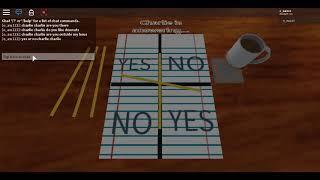 ROBLOX CHARLIE CHARLIE CHALLEGNE!!!!