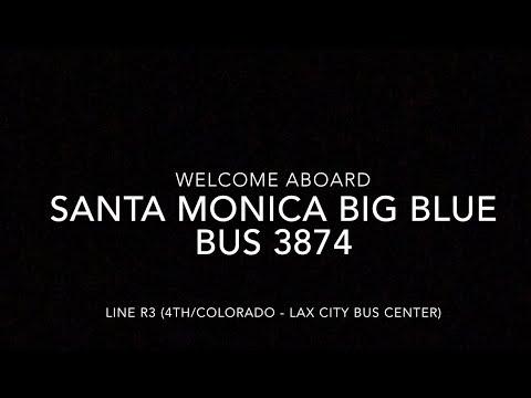 Santa Monica Big Blue Bus 2011 NABI 40-LFW CNG #3874 | Coin Lloyd's Transit Hub