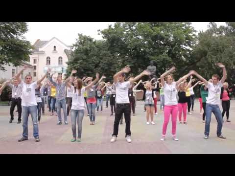 Танцювальний флешмоб у Тернопол 2013 рк