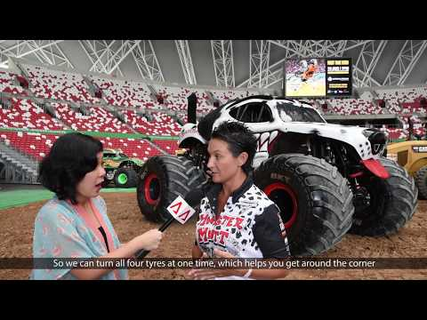 Monster Jam Singapore: In the driver's seat
