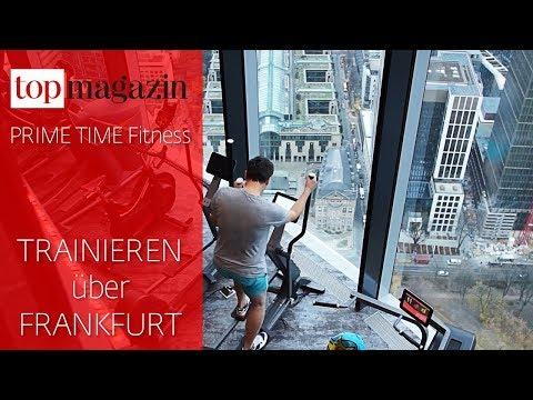 Prime Time Fitness Main Tower: Trainieren im höchsten Fitnessstudio Frankfurts