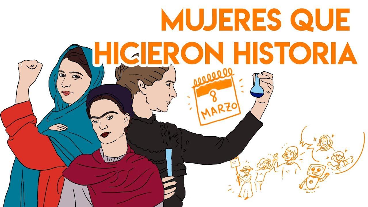 MUJERES que HICIERON HISTORIA #DiaDeLaMujer | Draw My Life
