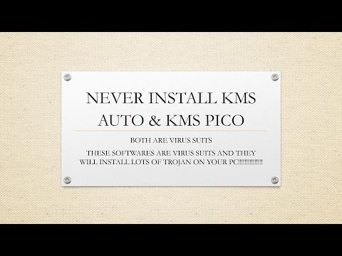 Donot Install KmsPico & KmsAuto - YouTube