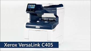 Цветной МФУ Xerox VersaLink C405 для малых и средних офисов