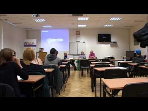 "Panel dyskusyjny ""Poezja Miejska Rap"" - Toruń 27.10.2012"