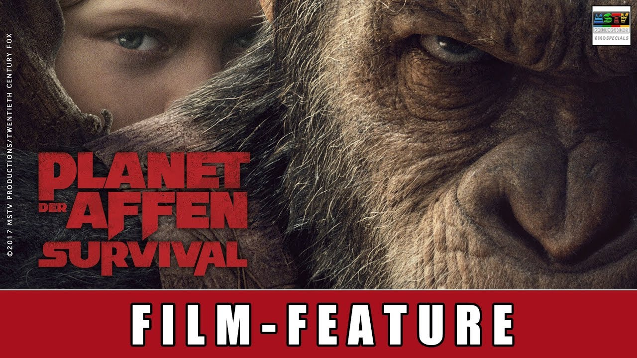 Planet der Affen - Survival - Film Feature | Andy Serkis | Motion Capture