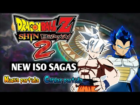 NEW DBZ Shin Budokai 2 ISO MOD SUPER SAGAS With New Goku Mastered UI
