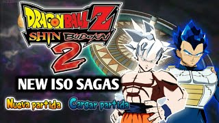 NEW DBZ Shin Budokai 2 ISO MOD SUPER SAGAS With New Goku Mastered UI 🌟 DOWNLOAD 🌟