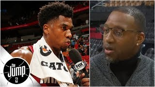Tracy McGrady on Hassan Whiteside's explanation: 'I don't believe him one bit' | The Jump