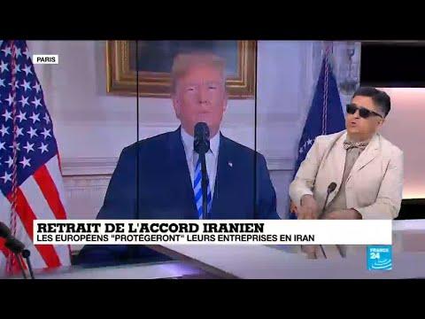 """Retrait de l''accord iranien: """"Cette position américaine ne m''étonne pas"""""""