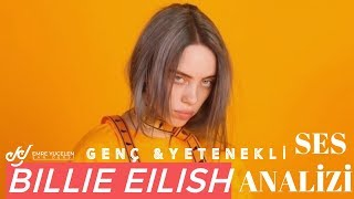 Billie Eilish Voice Analysis (Young Voice & Great Talent)