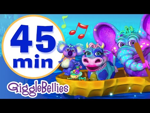 Row Row Row Your Boat | 15 Nursery Rhymes & Children Songs Collection