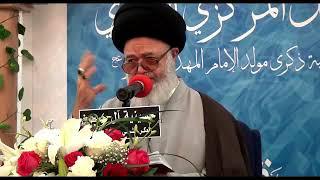 السيد عبدالله الغريفي - إستحباب زيارة الإمام الحسين عليه السلام في ليلة النصف من شعبان